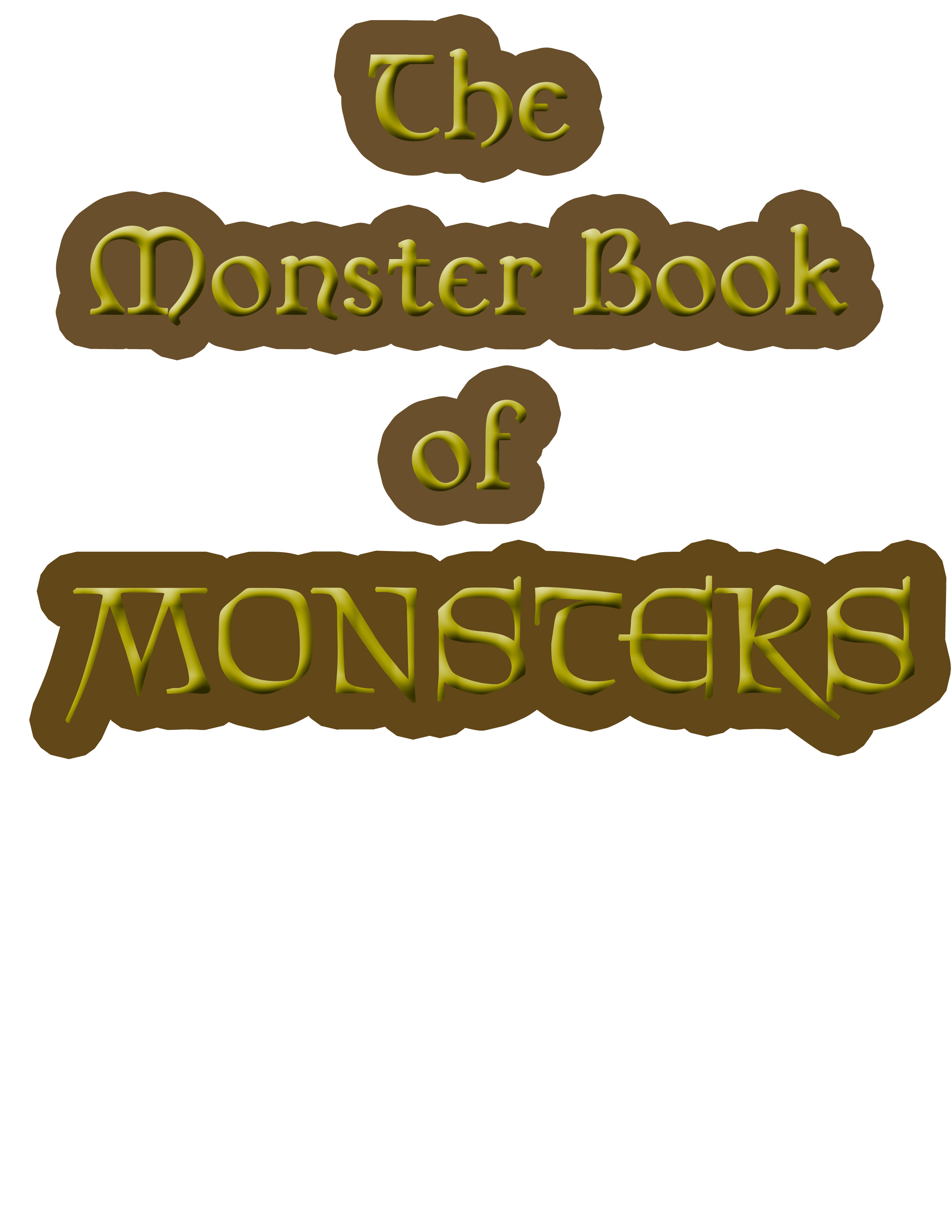Making The Monster Book Of Monsters Samantha Kamilos