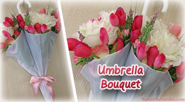 DIY Umbrella Flower Bouquet